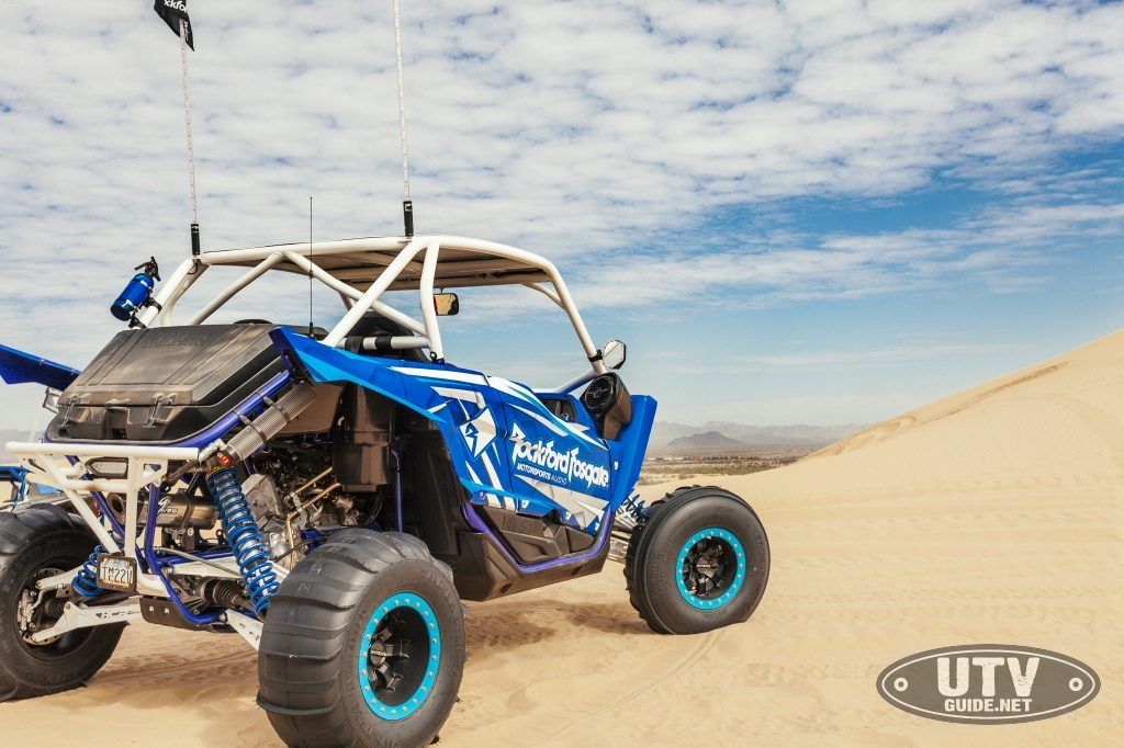 Customized Yamaha YXZ1000R Featuring Rockford Fosgate Audio