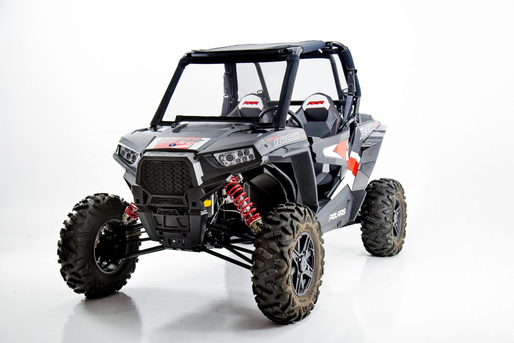 Polaris RZR with Rogue Powerscreen
