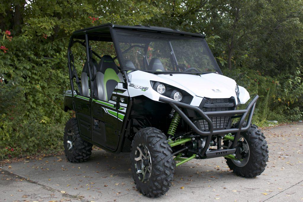 Kawasaki Teryx with Bug Buster Windscreen