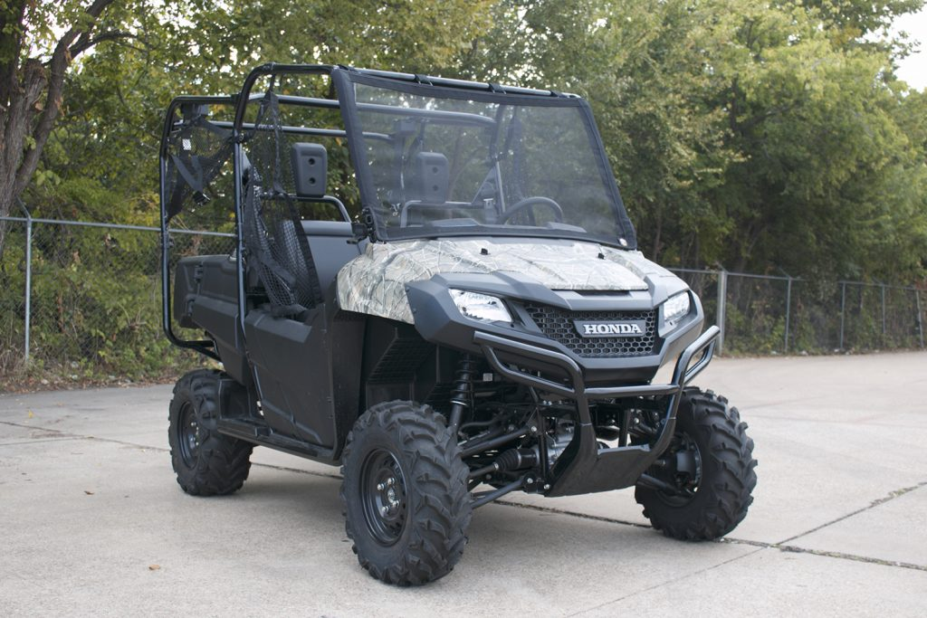 Honda Pioneer with Bug Buster Windscreen