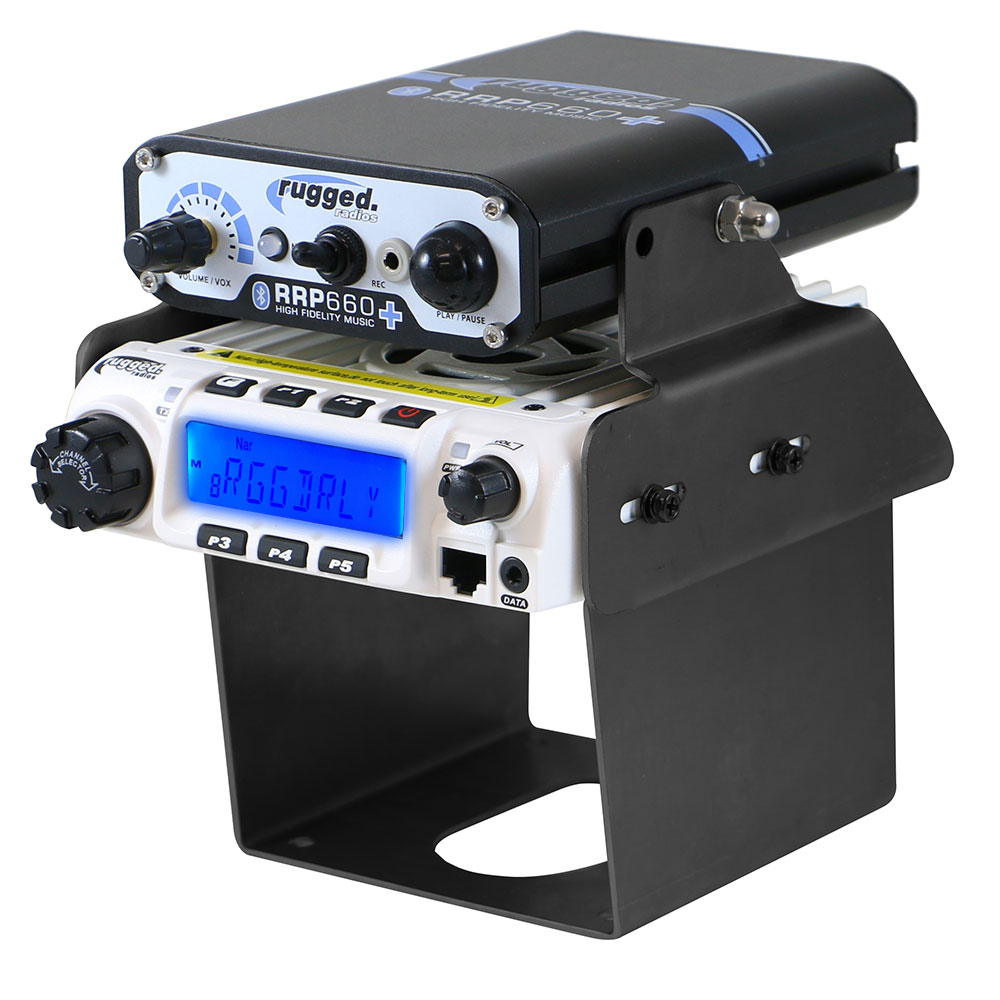 60-watt RM-60 VHF radio and mounting bracket