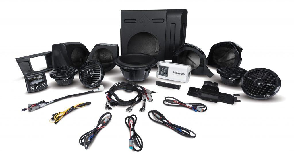 Rockford Fosgate YXZ1000R Audio System