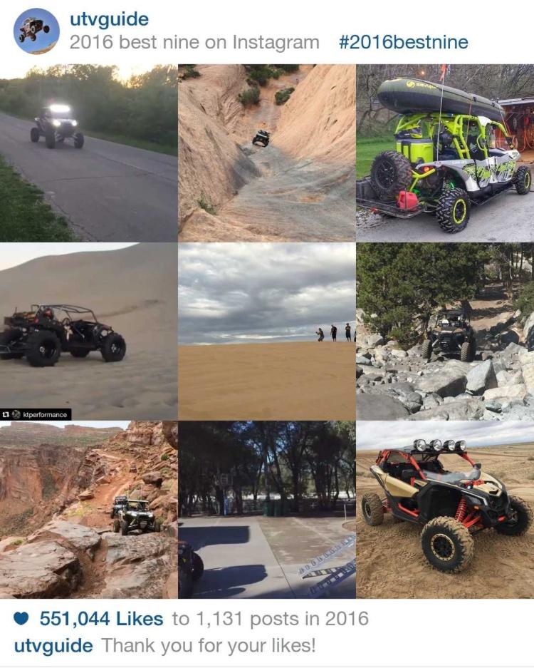 2016 Top Nine Instagram
