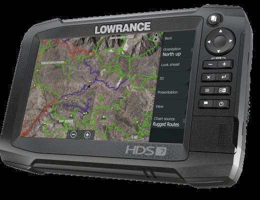 Lowrance HDS Carbon 7
