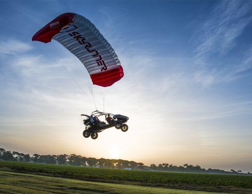 SkyRunner Flying Off-Road Vehicle