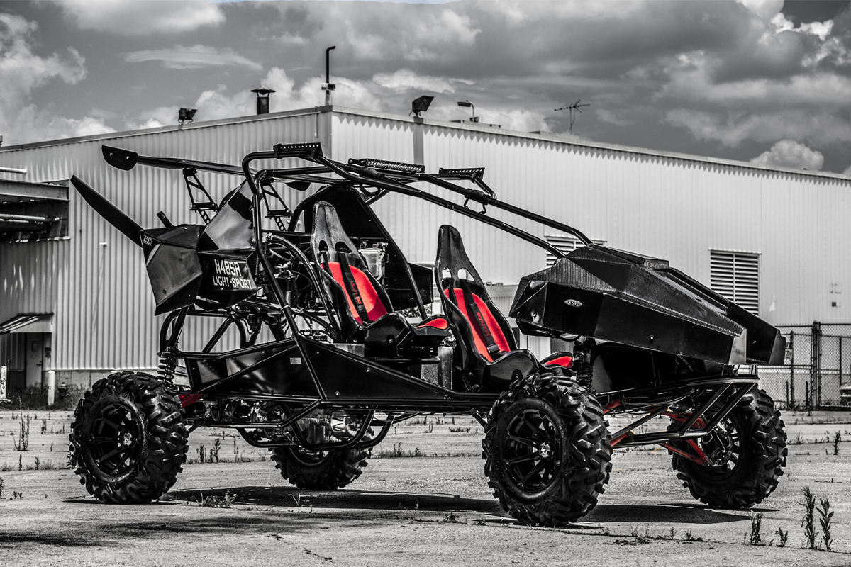 Sport Pilot License Cost >> Introducing SkyRunner, the World's First Flying Off-Road Vehicle - UTV Guide