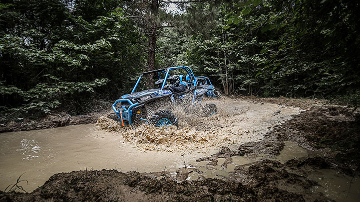 High Lifter Edition RZR XP 1000 Velocity Blue