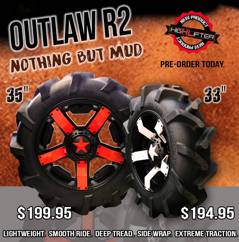 High Lifter Products introduces a new Outlaw R2 line of