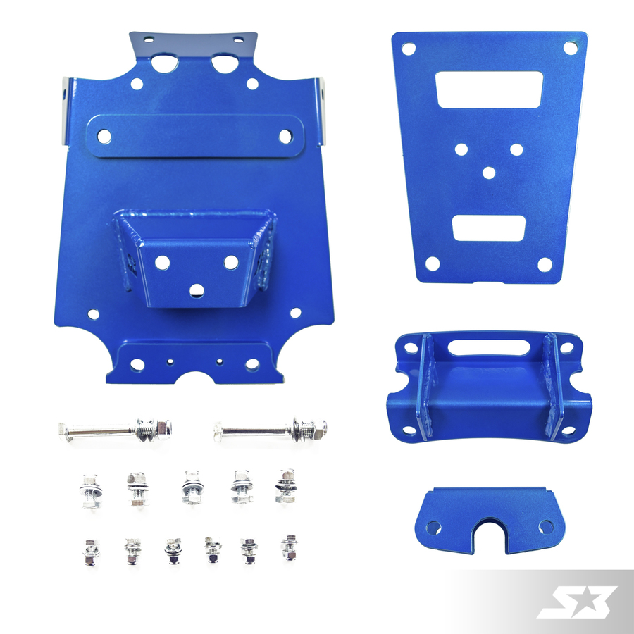 S3 Power Sports Can-Am Maverick X3 Front Gusset Kit
