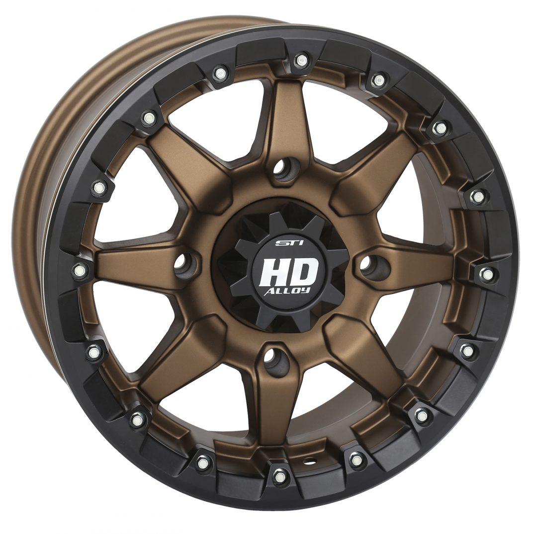 HD5 Beadlock Bronze wheels