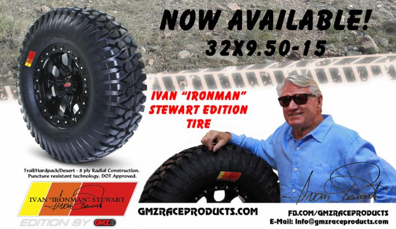 "Ivan ""Ironman"" Stewart Edition by GMZ"