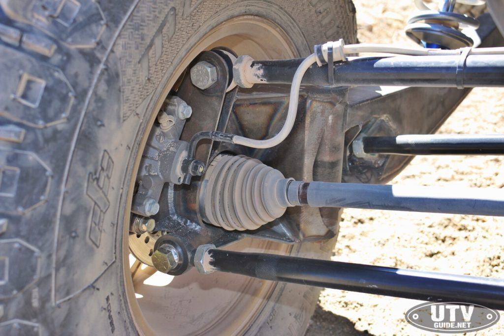 4-Link Rear Trailing Arm Suspension