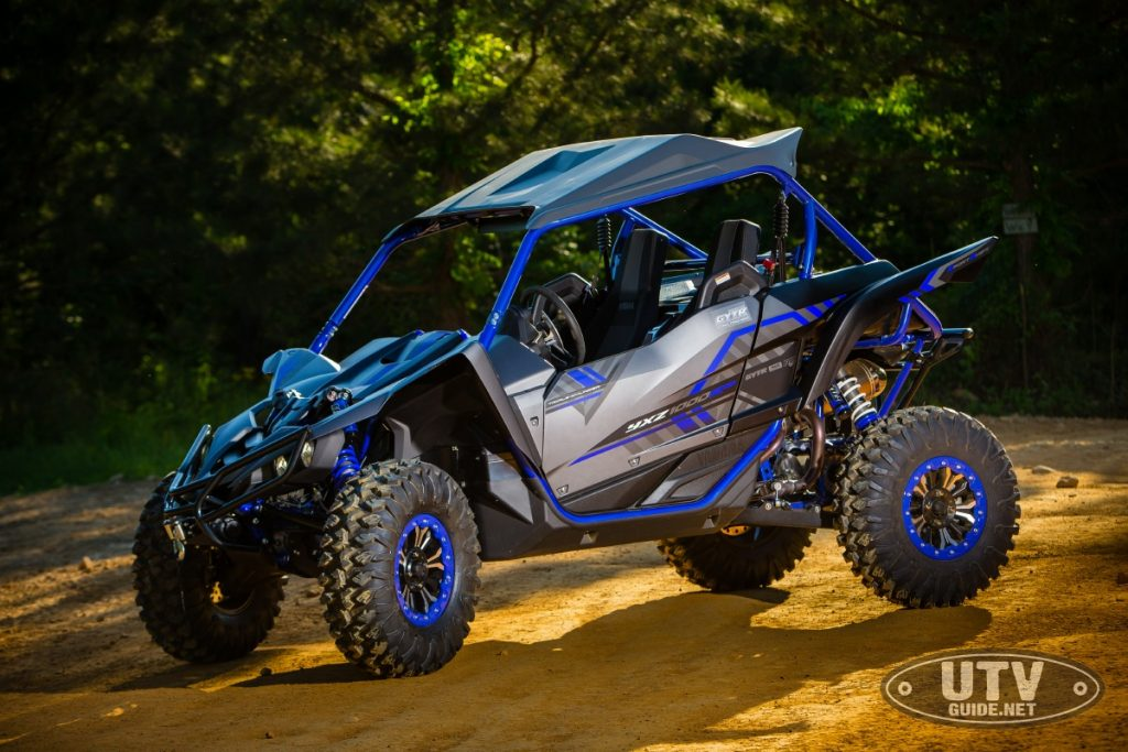 YXZ1000R Special Edition with Sport Shift, FOX Podium X2 , GYTR Tag Kit and 30-inch tires