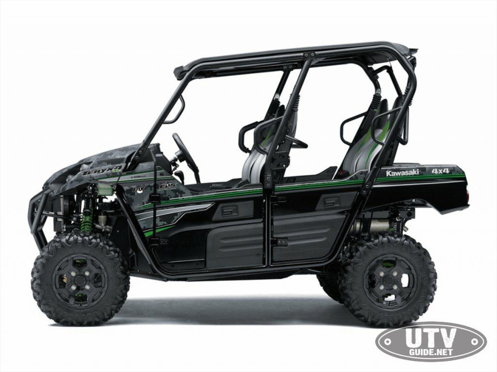 2018 Kawasaki Teryx4 Matrix Camo Gray