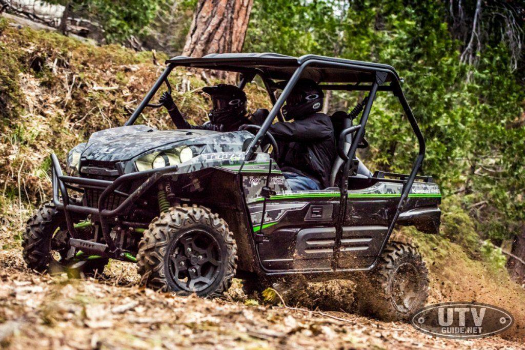 2018 Kawasaki Teryx Matrix Camo Gray