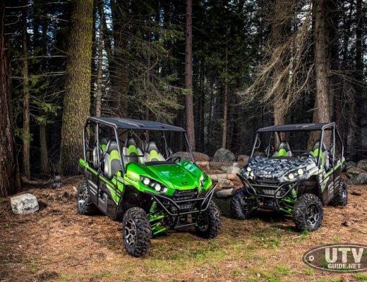 2018 Kawasaki Teryx and Teryx4