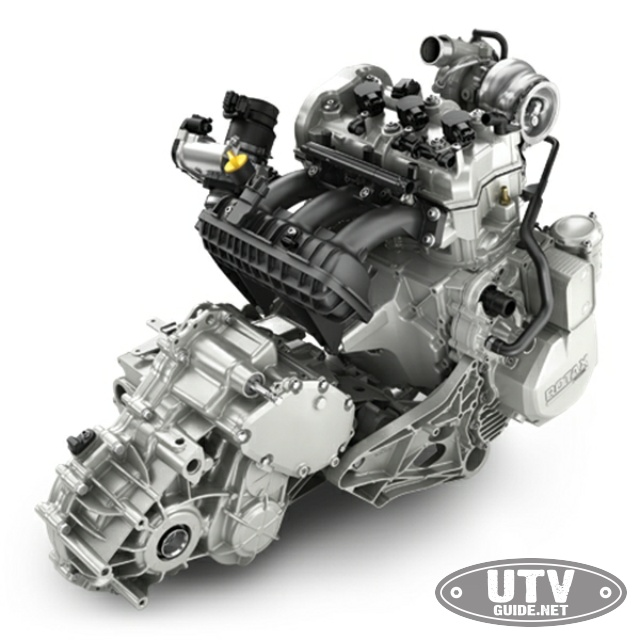 2018 Can-Am Maverick X3 Engine