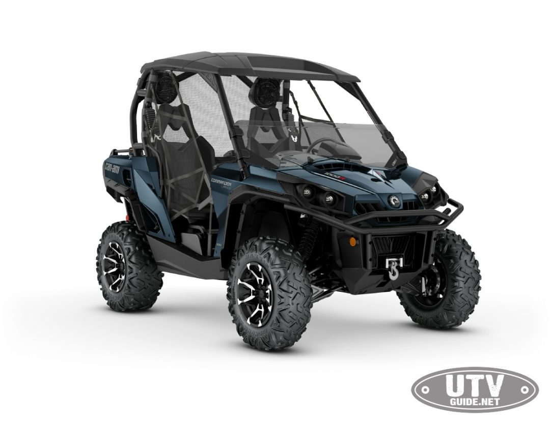 2018 Can-Am Commander LIMITED 1000R Midnight Blue