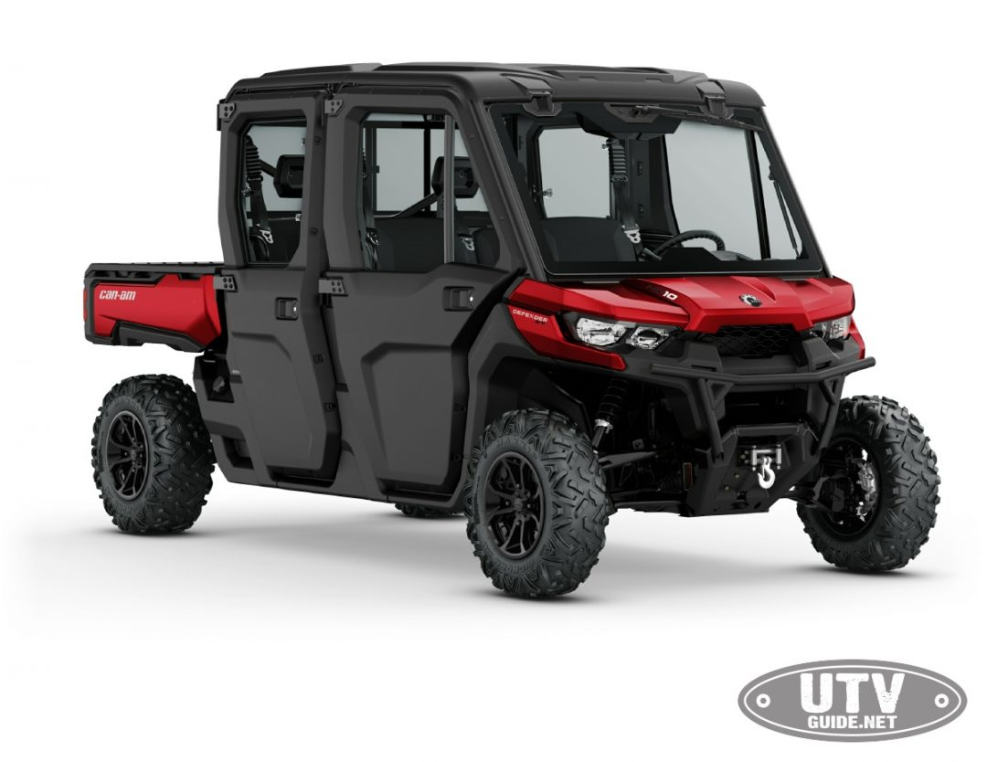2018 Can Am Defender Max Xt Cab Hd10