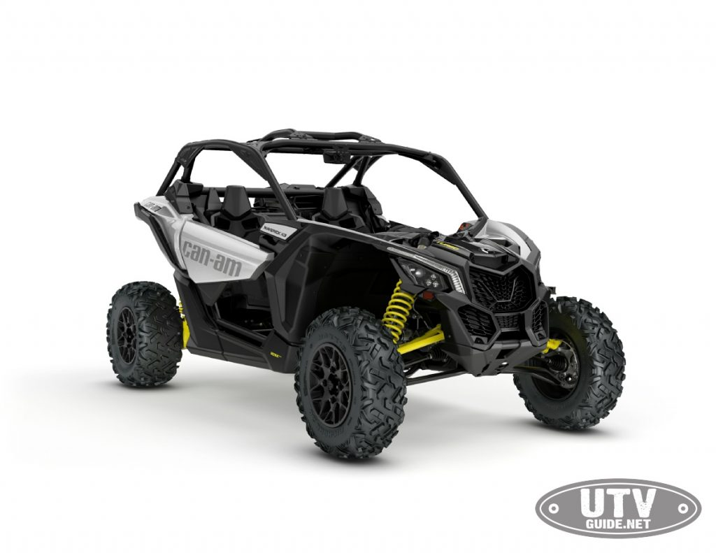 2018 Hyper Silver Can-Am Maverick X3