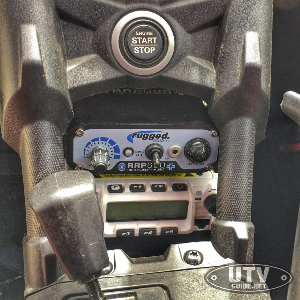 Rugged Radios 660 Plus Intercom and RM-60 VHF Radio