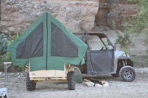 Ghost M1 Tactical Off-Road UTV Towable Camper