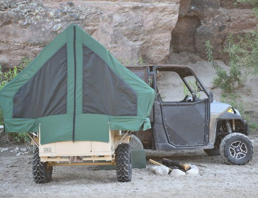 Ghost M1 Tactical Off-Road UTV Towable Camper