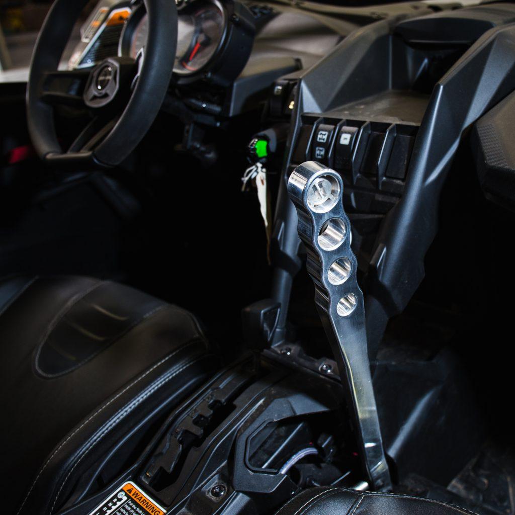 Rally-style hydraulic handbrake setup