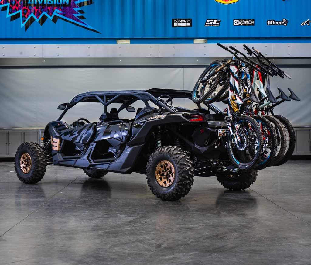 Ken Block's Can-Am Maverick X3 MAX