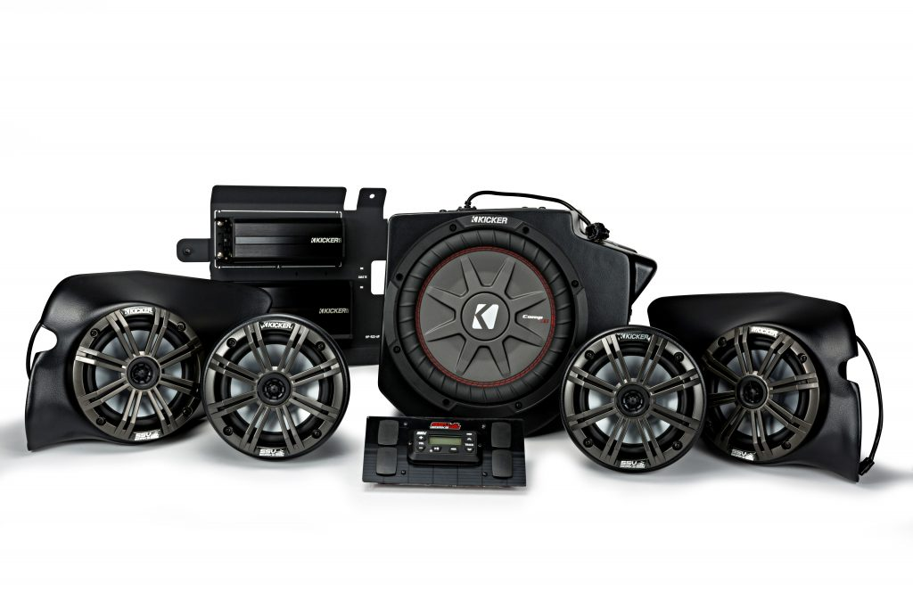 Kicker RZR Audio Speakers