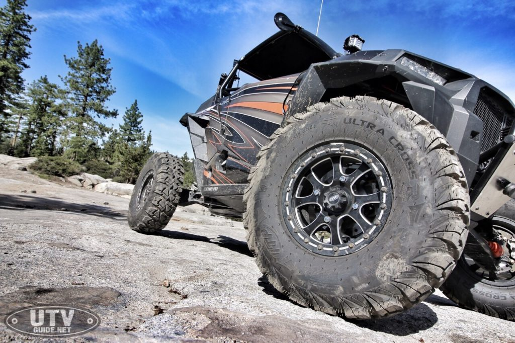 Polaris RZR XP Turbo with Optimum Offroad gear reduction
