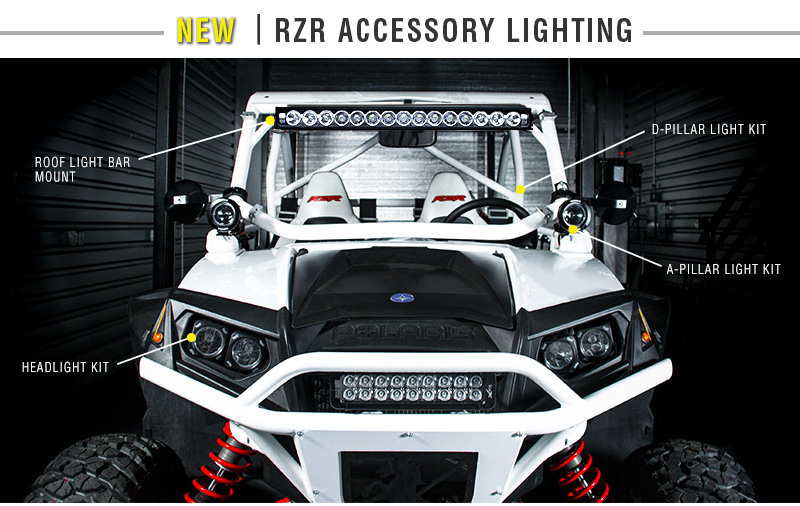 Polaris RZR LED LIghts