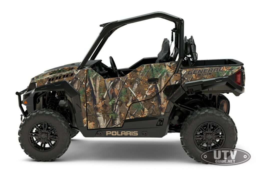 2018 Polaris GENERAL 1000 EPS Hunter Edition in Polaris Pursuit® Camo