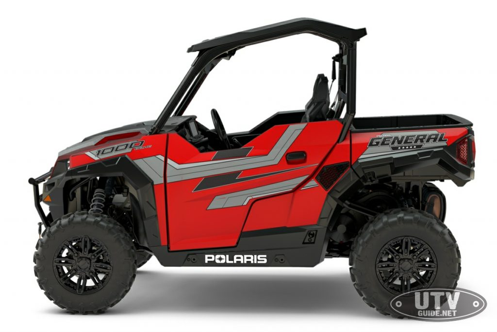 2018 Polaris GENERAL 1000 EPS RIDE COMMAND - Matte Sunset Red