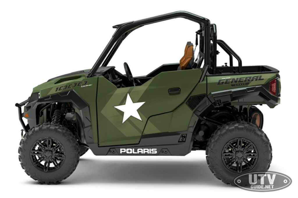 2018 Polaris GENERAL 1000 EPS Limited Edition - Military Theme