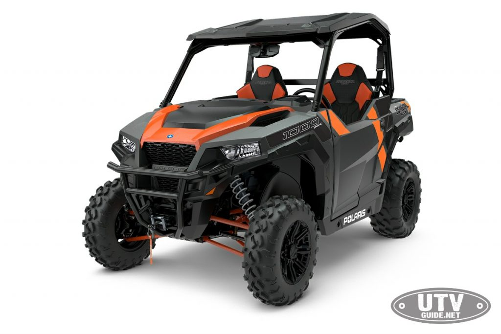 2018 Polaris GENERAL 1000 EPS Deluxe - Gloss Titanium Metallic