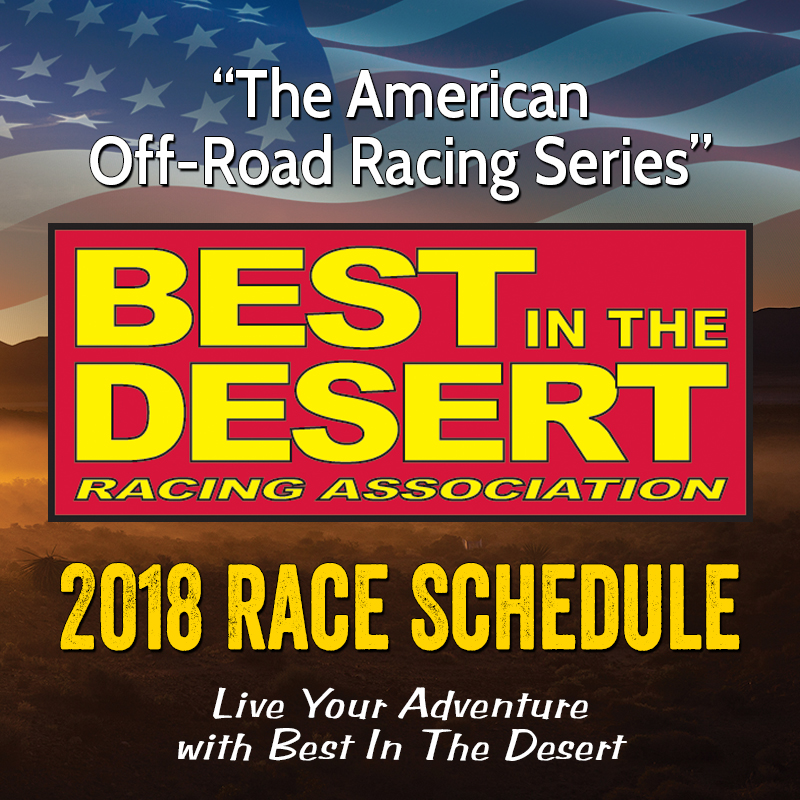 Best in the Desert 2018 Schedule