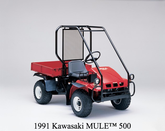 kawasaki mule celebrates 30 years