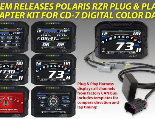 Polaris RZR AEM Plug & Play CD-7 Digital Dash Kit