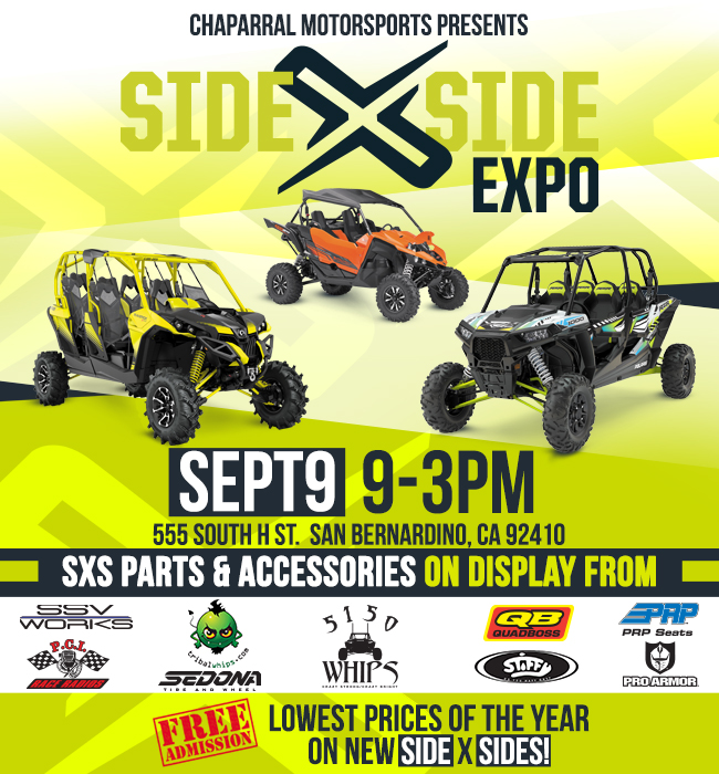 Chaparral Motorsports Side x Side expo