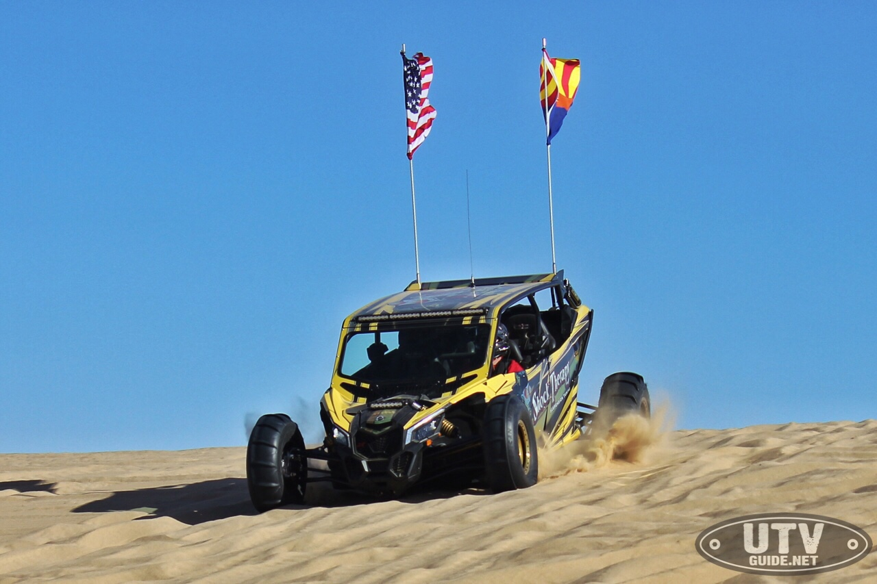 Shock Therapy Cruises Through Glamis in Their New Can-Am