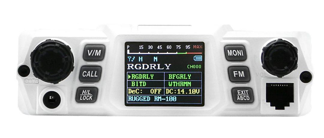 RM100-V 100 Watt VHF Mobile Radio