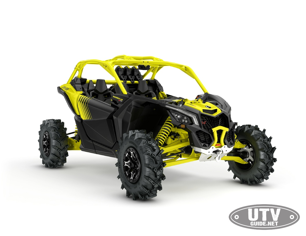 can am maverick x3 x mr turbo mud has nowhere to hide utv guide. Black Bedroom Furniture Sets. Home Design Ideas