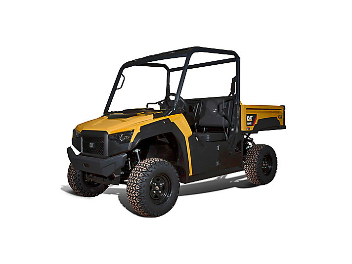 Side By Side Atv >> New Caterpillar Utility Vehicles Deliver Industry-Leading Performance and Stability at Full Load ...