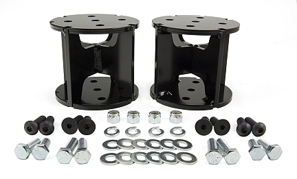 AIR SPRING SPACERS FOR LIFTED TRUCKS