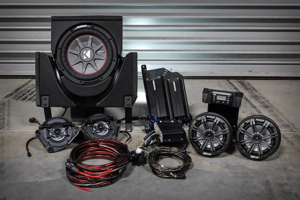 SSV Works Can-Am Maverick X3 Audio System