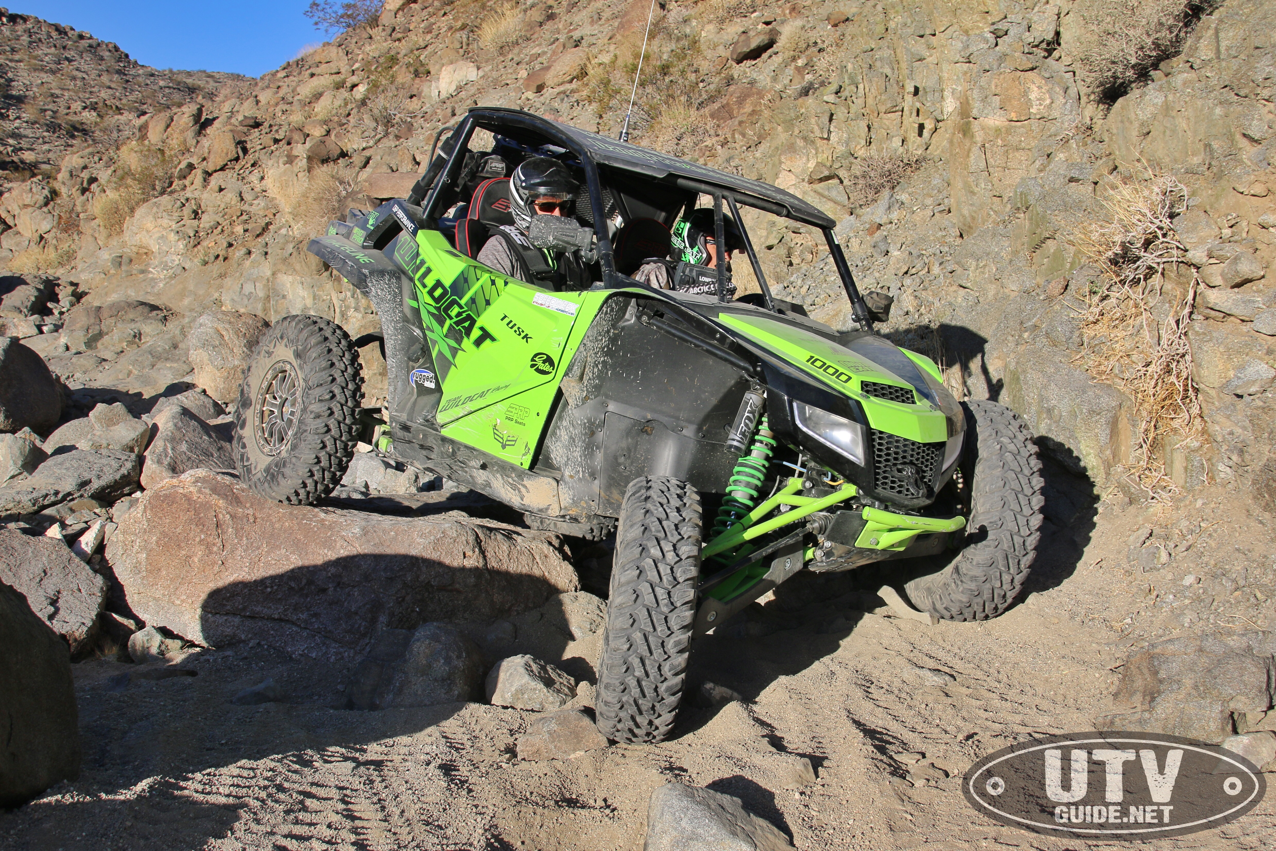 Rock Crawling With The Textron Wildcat Xx Utv Guide