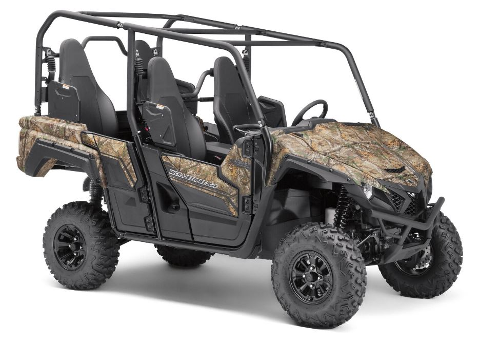 National hunting and fishing day sweepstakes features all for Yamaha side by side 4 seater