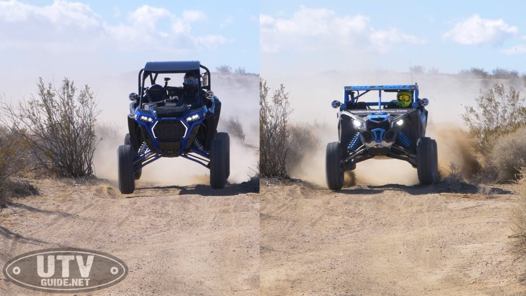 Can-Am Maverick X3 vs. Polaris RZR XP Turbo S