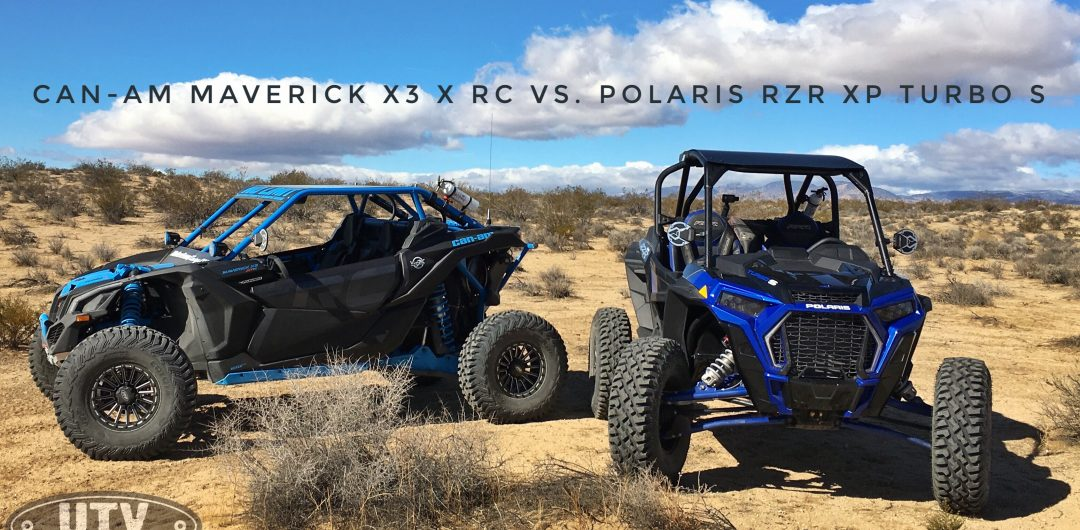 Can-Am Maverick X3 X RC vs. Polaris RZR XP Turbo S